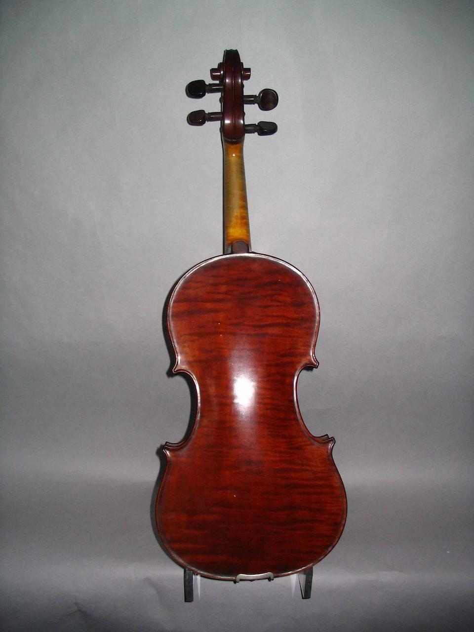 A James Steele Violin 1921