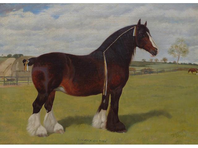 Frank Babbage (British, 19th/20th Century) 'Dunsmore Cui Bono'; 'Dunsmore Gloaming'. each 30.5 x 40.6cm (12 x 16in) (2)