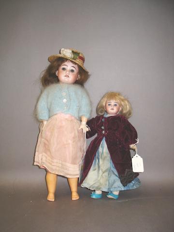 A.M 1894 bisque head doll, circa 1910 2