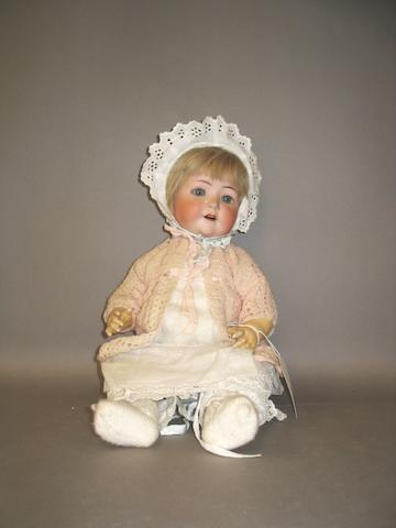 Heubach Koppelsdorf 320 bisque head doll, circa 1910
