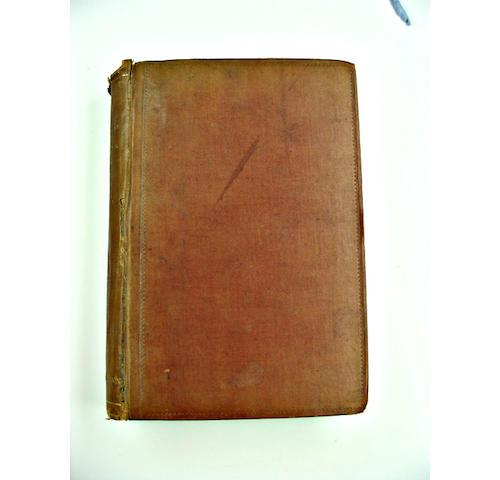 R L Stevenson - Treasure Island, 1st edn. [W E Henley's copy?]