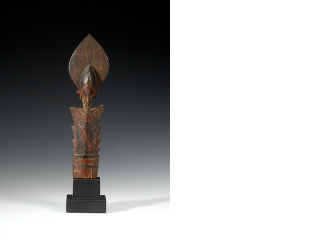 A Solomon Island club finial
