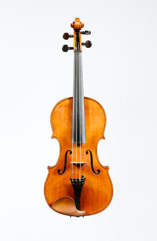 A Violin attributed to F.W Chanot circa 1895