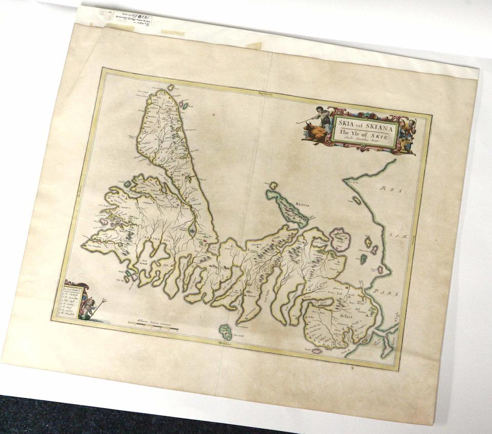 ISLE OF SKYE PONT (TIMOTHY) Skia vel Skiana, The Yle of Skie