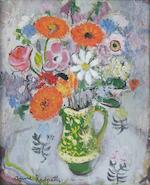 "Anne Redpath OBE RSA ARA LLD ARWS ROI RBA (1895-1965) ""Marigolds"""