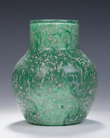 A Monart 'Paisley Shawl' vase Shape N