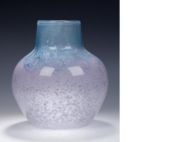 A Monart vase  Shape RD