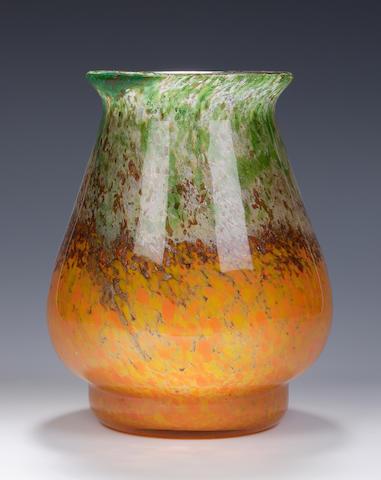 A Monart vase  Shape RA