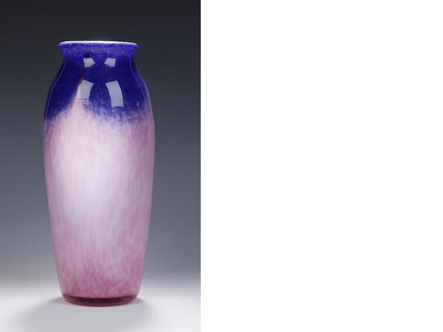 A Monart vase Shape UA