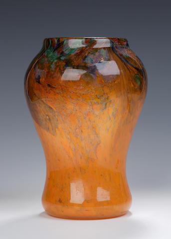 A Monart vase Shape FA