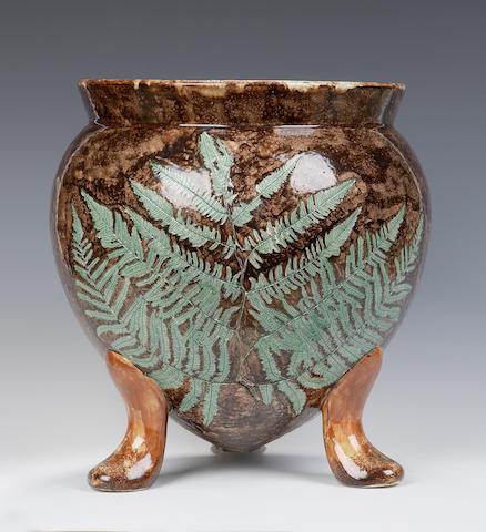 'Ferns' A Wemyss gypsy pot