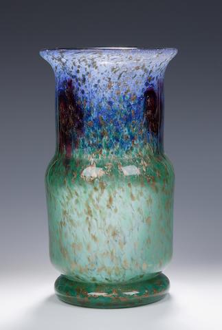A Monart vase,  Shape QG