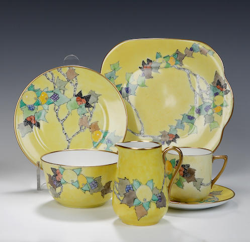 A tea service By Elizabeth Mary Watt