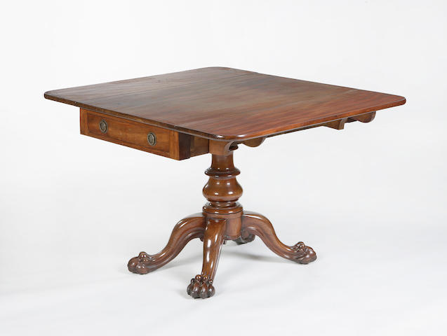 A 19th century mahogany Pembroke table