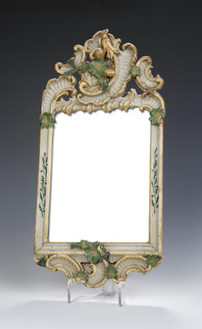 An 18th century South German wall mirror
