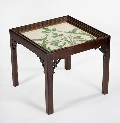 An Edwardian occasional table
