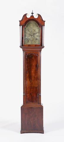 A George III mahogany longcase clock, William Downie Edinburgh