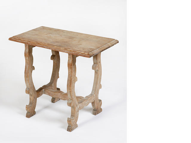 A joined pine stool