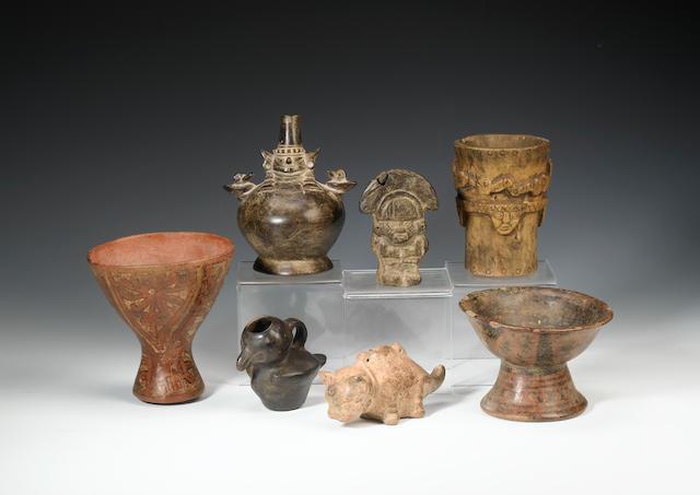 A Nazca goblet