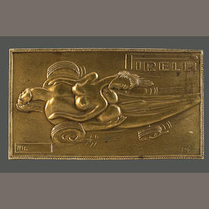 A Salvador Dali belt buckle,