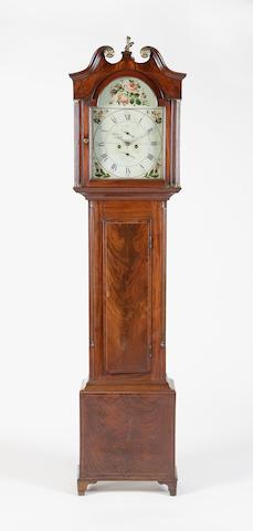 An early 19th century mahogany longcase clock, J. McGilchrist, Kirkintulloch