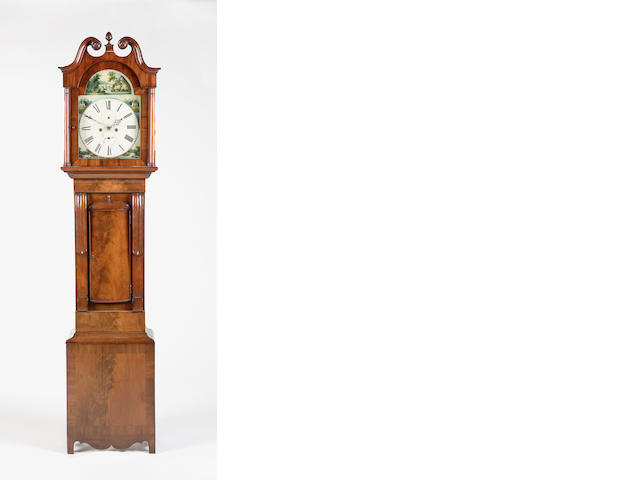 An early 19th century mahogany longcase clock *** Smith Forres