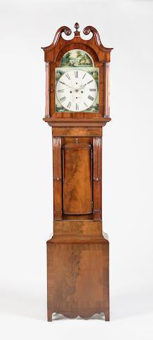 An early 19th century mahogany longcase clock *** Smith Forres
