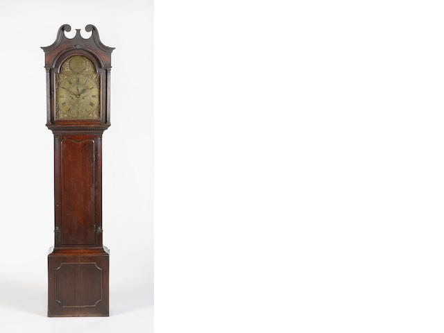 A George III oak longcase clock