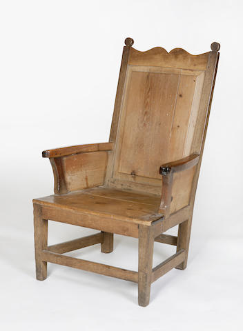 A late 18th/ early 19th century Shetland armchair