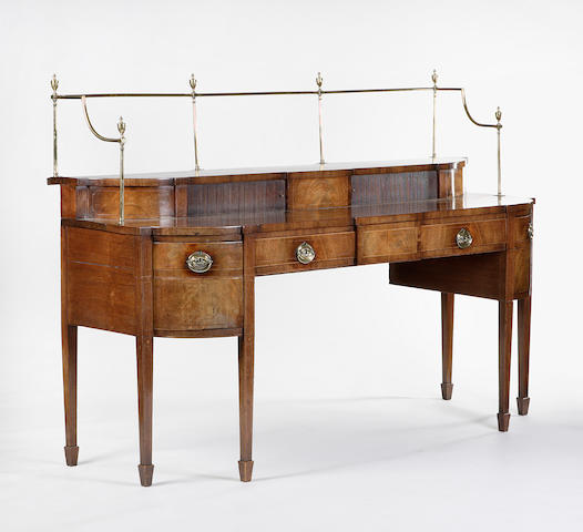 A George III Edinburgh mahogany Sideboard