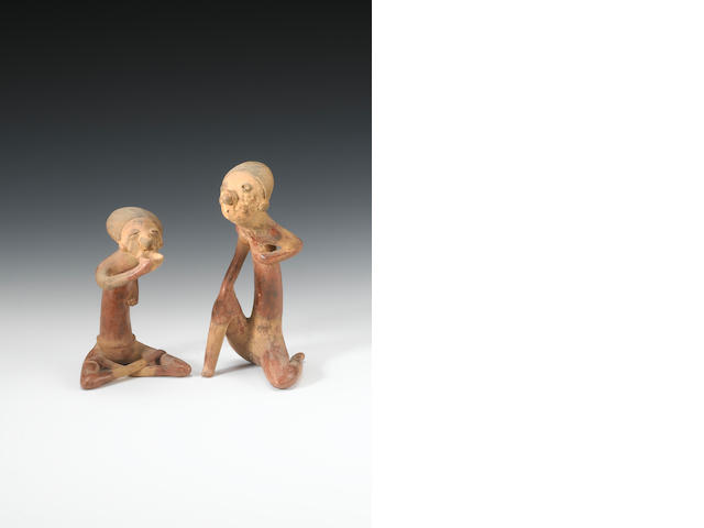 A pair of Nayarit figures