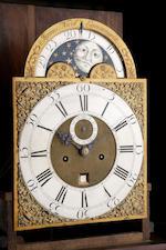 A George II mahogany longcase clock, James Nicol Canongate,