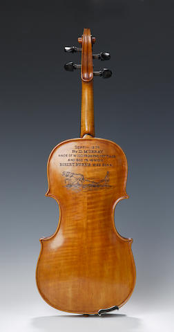 A violin by Daniel Murray of Edinburgh
