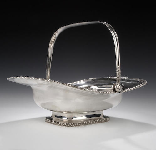 A George IV Bread Basket By Forests, Edinburgh, 1822