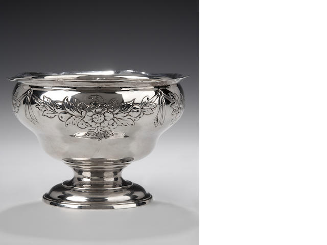 A George II rococo Sugar Bowl By William Dempster, Edinburgh, 1758