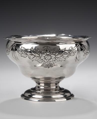 A George II rococo Sugar Bowl By William Dempster, Edinburgh, 1758