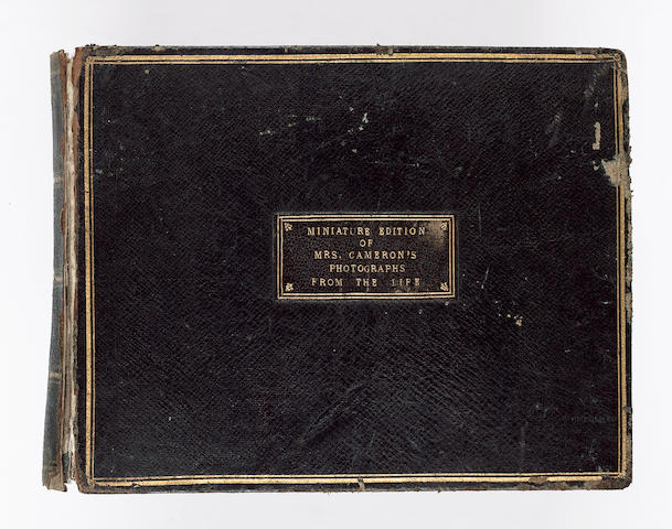 CAMERON (JULIA MARGARET) 'Miniature edition of Mrs. Cameron's Photographs from the Life', 1869