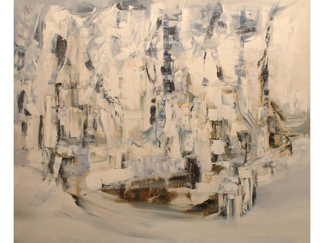 *** Barker, (British, 20th Century) Abstract.