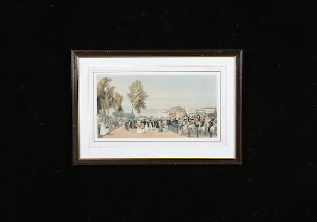 Thomas Shotter Boys  print of Hyde Park