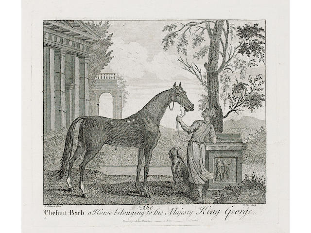 HORSE RACING PARR (REMIGIUS) A Collection of the Most Famous Horses belonging to ye Dukes of Somerset, Devonshire, Bolton, Rutland, the Earl of Portmore, and other of ye Nobility and Gentry of England