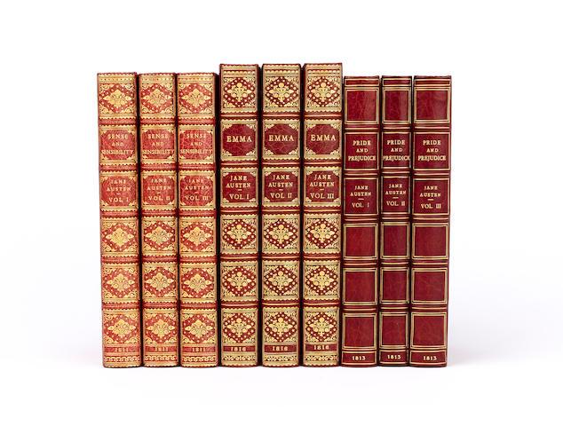 AUSTEN (JANE) Emma: a Novel, 3 vol.