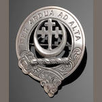 A silver plaid brooch for the clan Hannay or Achanye