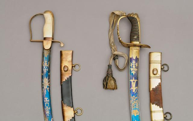An 1803 Pattern Rifle Officer's Sabre