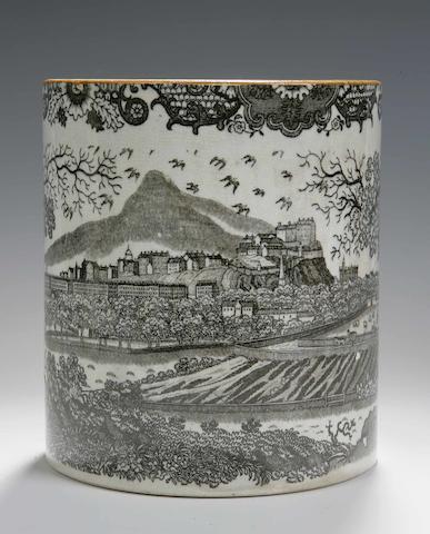 A Pearlware mug  Circa 1850