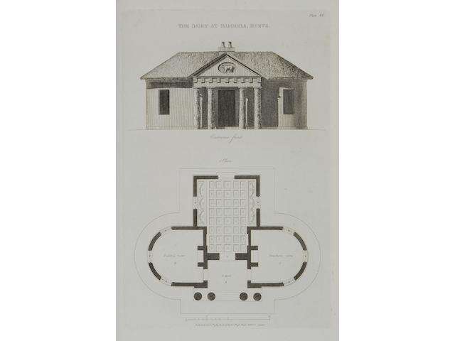 SOANE (JOHN) Plans, Elevations and Sections of Buildings Executed in the Counties of Norfolk, Suffolk, Yorkshire, Staffordshire, Warwickshire, Hertfordshire et caetera