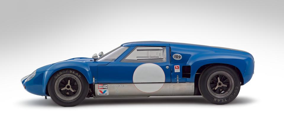 The Ex-Mecom Racing Team/Augie Pabst/Walt Hansgen,1963-64 Lola-Chevrolet Mark 6 GT Endurance Racing Coupé  Chassis no. LGT-2