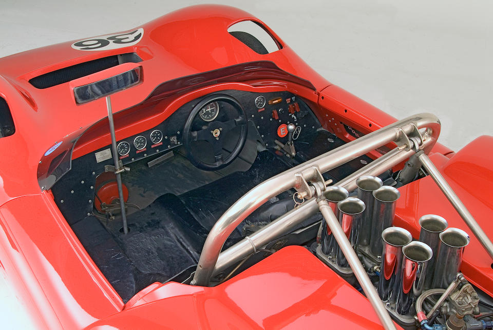 The Ex-Nick Mason,1967 McLaren-Chevrolet M1C Sports-Racing Two-Seater  Chassis no. '40/12'