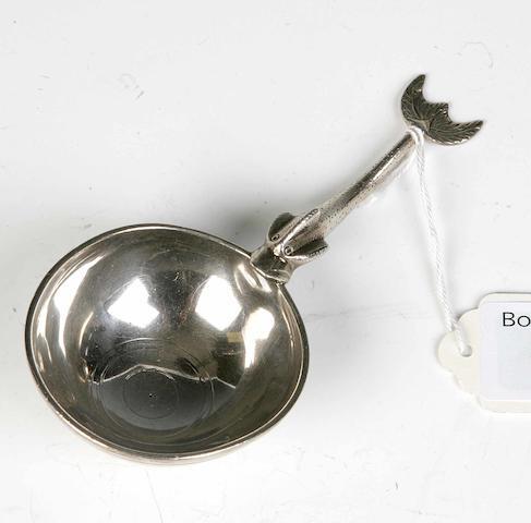 A Traprain replica Spoon,  By Brook & Son, Edinburgh 1925,