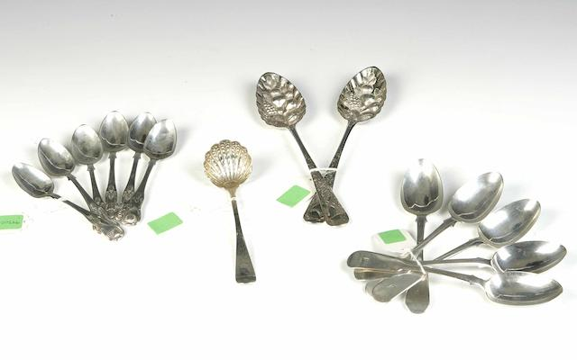 A collection of Flatware