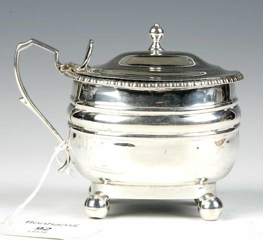 A Mustard Pot By Hamilton & Inches, Edinburgh 1904,